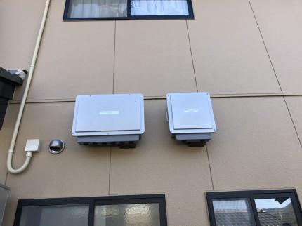 信州の屋根ソーラー 太陽光 施工写真