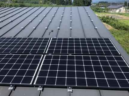 飯田 下伊那郡 太陽光発電システム設置事例