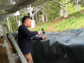 太陽光防草シート ザバーン350