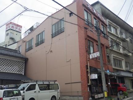 ビル塗装施工後
